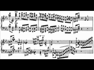 Hamelin plays Liszt - Paganini Etude No. 2 (live) Audio Sheet music