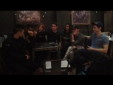 Watch the Shadowhunters cast react to an epic episode 4!