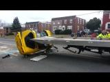 Погрузка chevrolet corvette