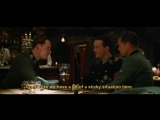 Бесславные Ублюдки | Inglourious Basterds (2009) Перестрелка в Баре