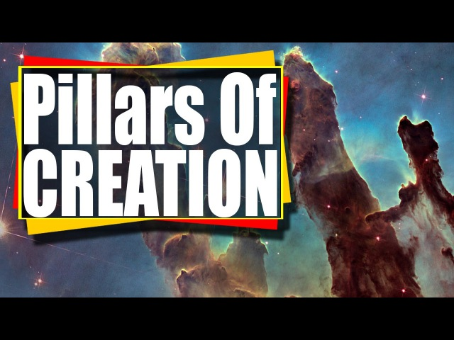 4K Amazing Astronomy : The Eagle Nebula - Pillars of Creation UHD