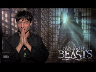 IMDb Quizzes the 'Fantastic Beasts' Cast