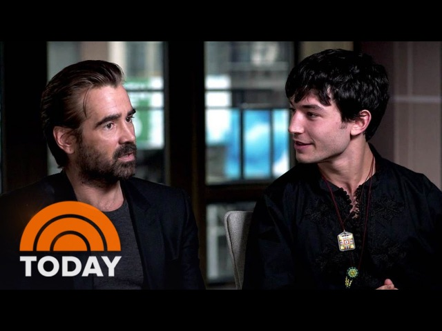 Colin Farrell On 'Fantastic Beasts': It Was Fun To Look 'Ridiculous' Waving Wands   TODAY