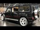 Гелик G 63, удлиненный на 75 см! Карбоновый SLR, TESLA, Mercedes-AMG GT S, McLaren - FAB DESIGN!