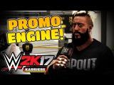 WWE 2K17 Meine KARRIERE [PS4] #02 - PROMO ENGINE! ● Lets Play WWE 2K17 Deutsch