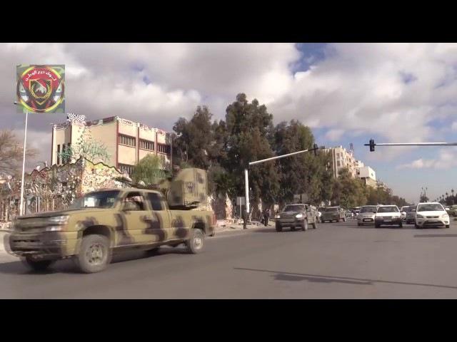 Refuerzos llegan a Wadi Barada para limpiar el valle de terroristas, Damasco oeste