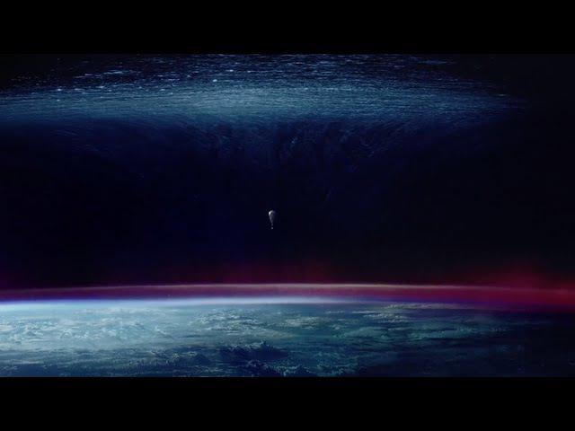 Реклама с намеком что мы живем под куполом из воды?