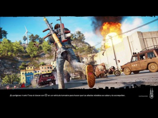 Just Cause 3 in ps4 pro firmware 4.50 beta. Better framerate