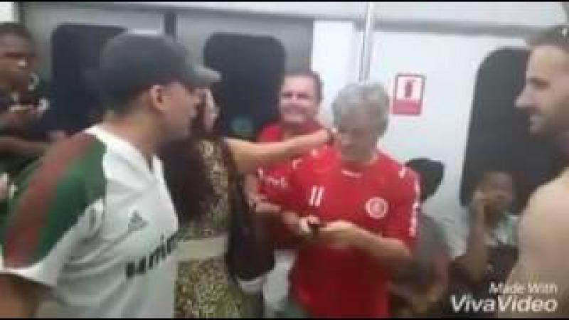 Bruno Vargas Costa torcedor covarde -VÍDEO COMPLETO