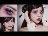 Easy Halloween makeup l Cute Vampire