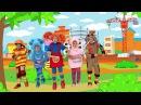 КУКУТИКИ - ПОДЪЕМНЫЙ КРАН - Развивающая веселая песенка про рабочие машинки для детей малышей - Видео Dailymotion