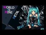 Hatsune Miku - World is Mine (Hard Rock)