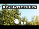 Modeling and rendering Realistic trees -PART01- C4D Speedtree