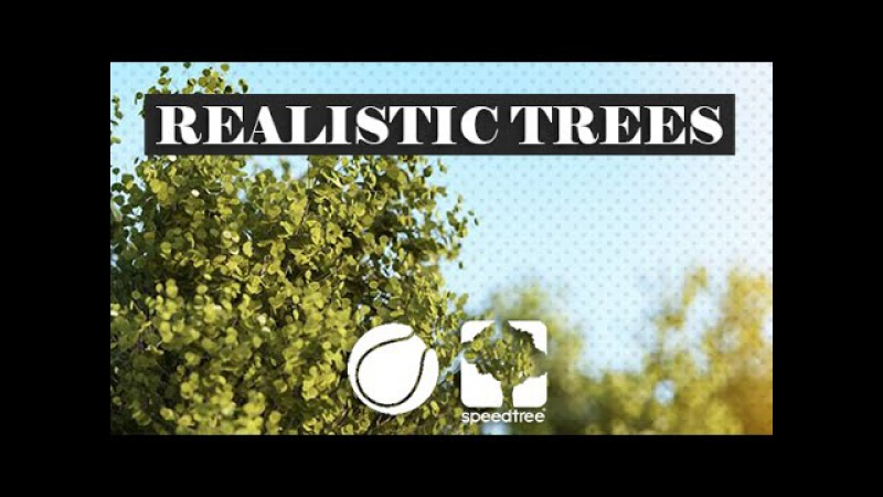 Modeling and rendering Realistic trees -PART01- (C4D Speedtree)