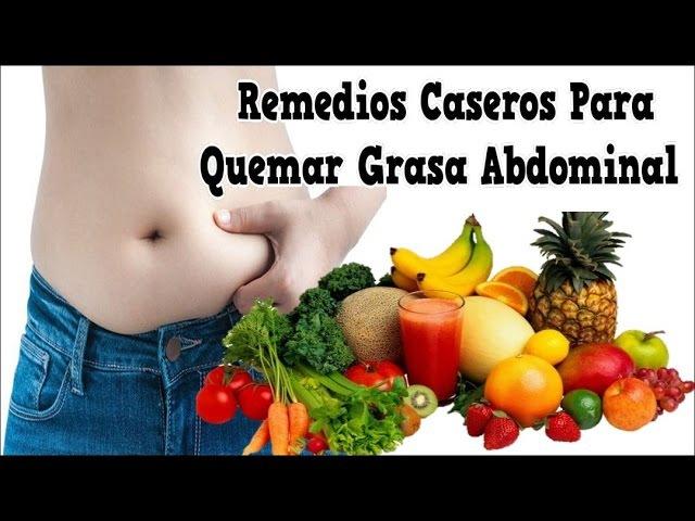 Remedios Caseros Para Quemar Grasa Abdominal, Dieta Quema Grasa, Ejercicio Para Quemar Grasa