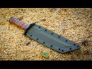 Making TANTO KNIFE DAMASCUS Handguard and Pommel Part 3