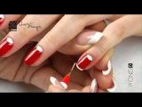 ОлеХаус - Дизайн ногтей с Shellac «Клюква в сахаре»