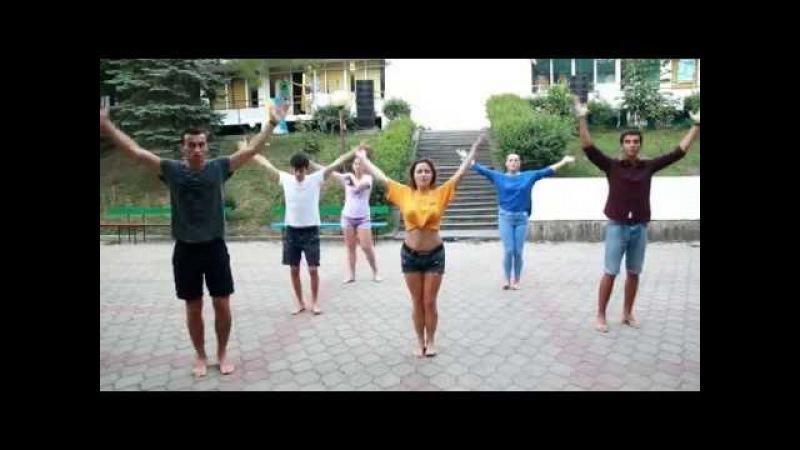 Shakira - Waka Waka - вожатский танец ДОЛ Нептун 2016