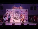Ruslan Mask vs Dichka | 1/8 Hip-Hop Final | Spring Funky Summit 2017