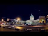 SPb night Kazan Cathedral LAK TV