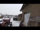 Китай. Деревенский дом печка супер