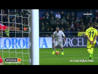 Вильярреал - Реал Мадрид 2:1. Гарет Бэйл