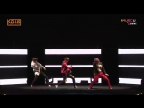 B.I.G - Intro + 1.2.3 @ MBC K Plus Concert in Hanoi 170503