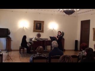Тактакишвили - Соната для флейты и фно 3 часть
