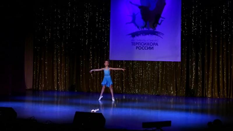 Моя доченька на всероссийском фестивале конкурсе Терпсихора России Танец Маленькая балерина