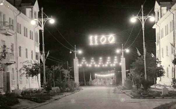 Штапской мост в 1962 году.