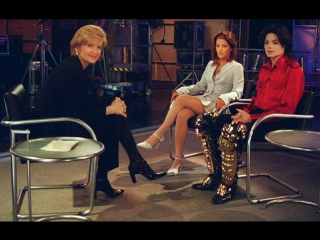 Michael Jackson and Lisa Marie Presley in PrimeTime with Diane Sawyer [1995]