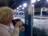 Мама в аквариуме