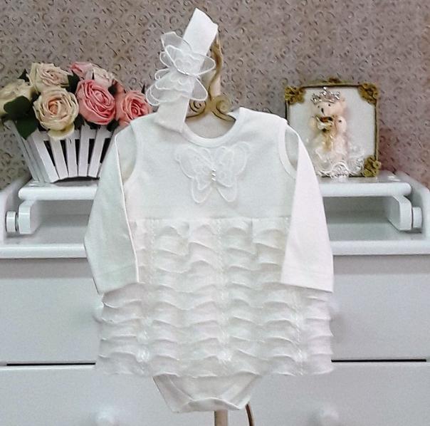 Кружевные платья для новорожденных