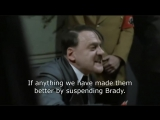 Goodell (Hitler) Reacts to the Patriots Week 3 Blowout