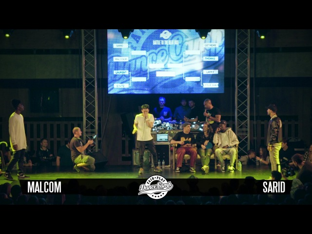Malcom vs Sarid | ROUND 1 | Fair Play Dance Camp Dance 2016 | Dance Battle to the Beatbox