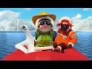 Эскимоска 3 сезон | Где рыба? (10 серия) | Мультик про северный полюс