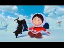 Эскимоска 3 сезон | Маленький друг (11 серия) | Мультик про северный полюс