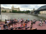 Starlight (MUSE cover) flashmob Moscow Gorky Park 18.06.2016