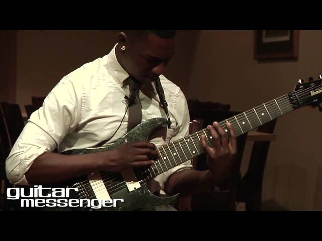 Tosin Abasi - Animals As Leaders: GuitarMessenger.com Masterclass Part 1 (Tapping CAFO)