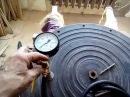 Устройство крышки и мешалки газогенератора 10