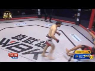Cheap Shot: MMA Fighter Barotov KNOCKS OUT Khalilov In 3 Seconds!
