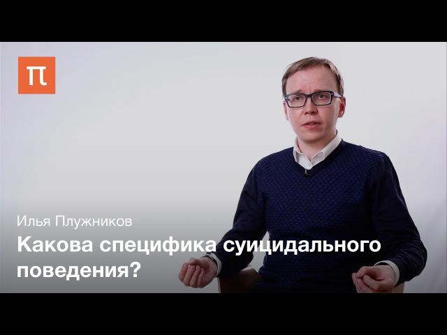 Суицидальные и антисуицидальные факторы – Илья Плужников