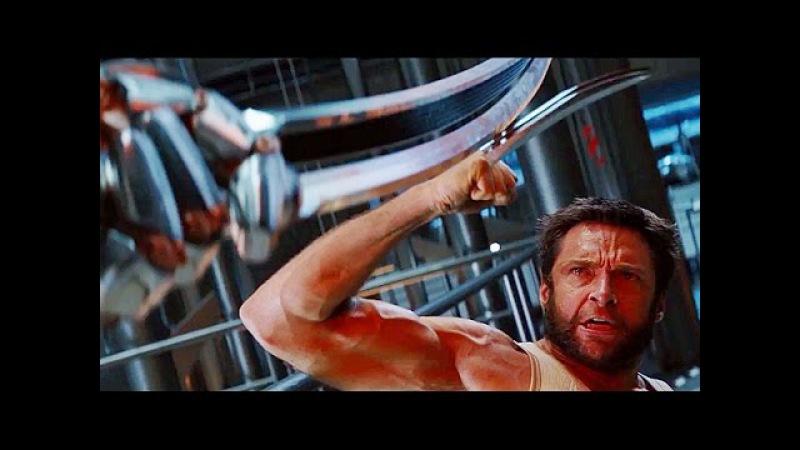 LOGAN (Wolverine) vs Silver Samurai Fight Scene [HD]