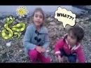 Denize Taş Atma CHALLENGE Yaptı Oyun Oynadık Çizgi Film Gibiydi Eğlenceli Çoçuk Oyunu