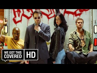 The Defenders Midland Circle Security Elevator B Promo [HD] Charlie Cox, Finn Jones, Mike Colter