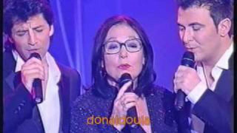 Nana Mousxouri Sakis Rouvas Antonis Remos Arion Vraveia 2003 Mega Channel