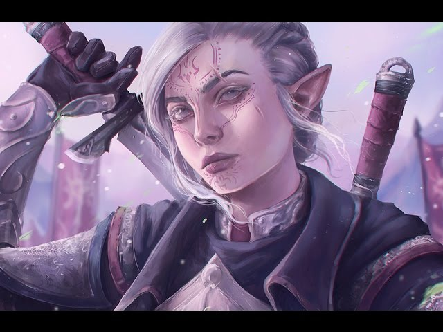 Astri Lohne — Inquisitor | Digital Painting Process