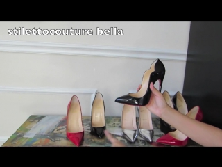 Christian Louboutin Review:Hot Chick 130.So Kate 130.Pigalle 120.