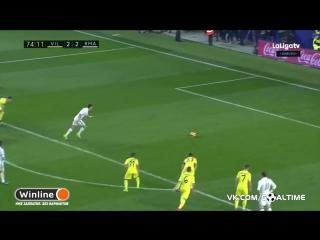 Вильярреал - Реал Мадрид 2:2. Криштиану Роналду (пенальти)