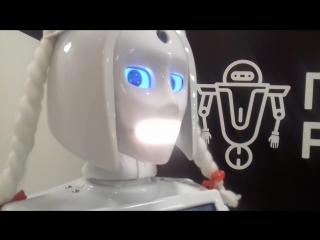 Девушка робот предсказала победу ФК